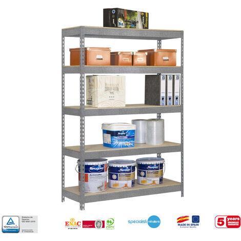 Simonrack - Kit bricoforte 5 estantes chipboard 2000 x 1000 x 600 mm