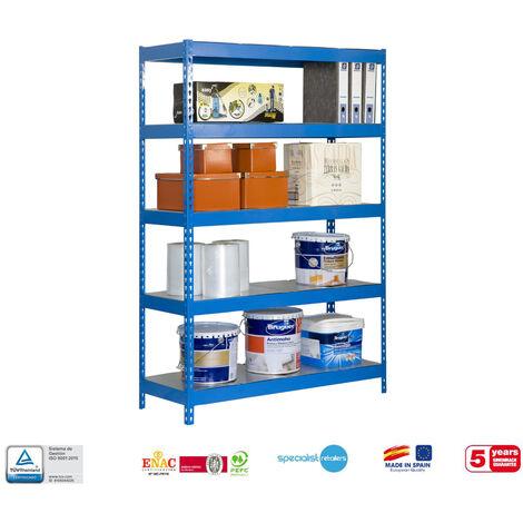 Simonrack - Kit bricoforte 5 estantes metal 2000 x 1200 x 600 mm
