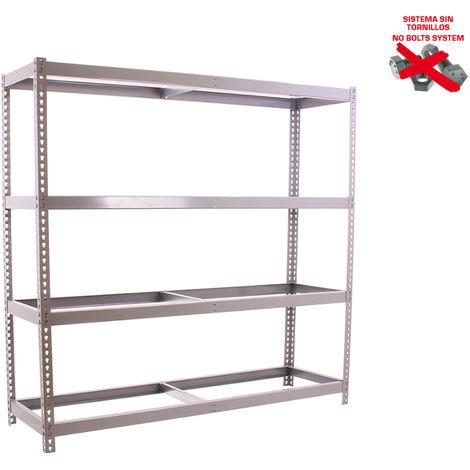 Simonrack - Kit ecoforte 4 estantes galvanizado