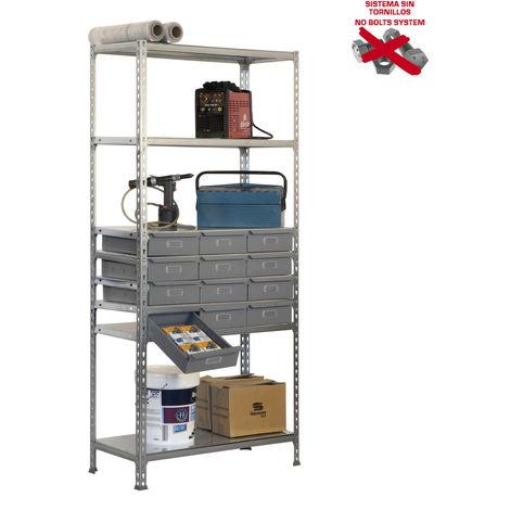 Simonrack - Kit simonbox 8/400 12 cajones metalicos