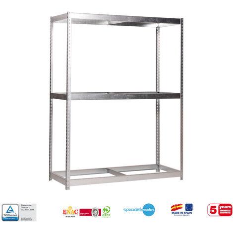 Simonrack - Kit simonforte 3 estantes galvanizado