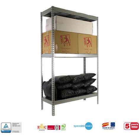 Simonrack - Kit simonforte 3 estantes metal galvanizado - galvanizado