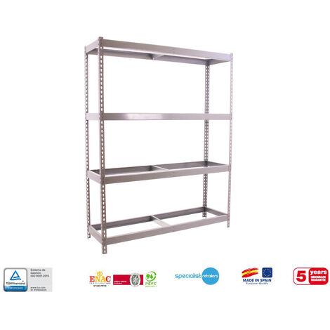 Simonrack - Kit simonforte 4 estantes galvanizado