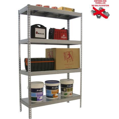 Simonrack - Kit simonforte 4 estantes metal galvanizado - galvanizado