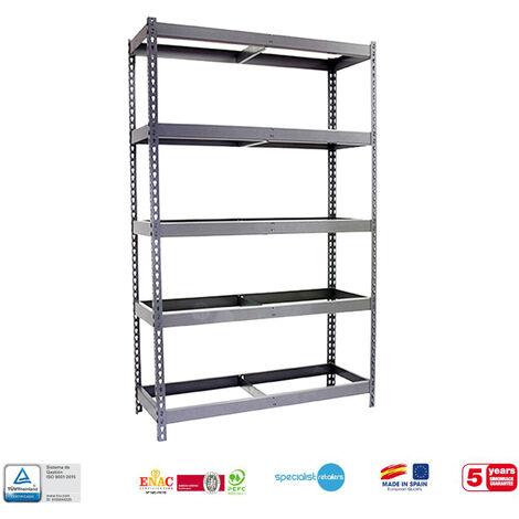 Simonrack - Kit simonforte 5 estantes galvanizado