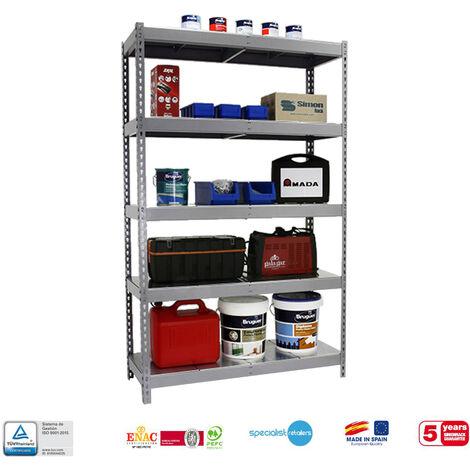 Simonrack - Kit simonforte 5 estantes metal galvanizado - galvanizado