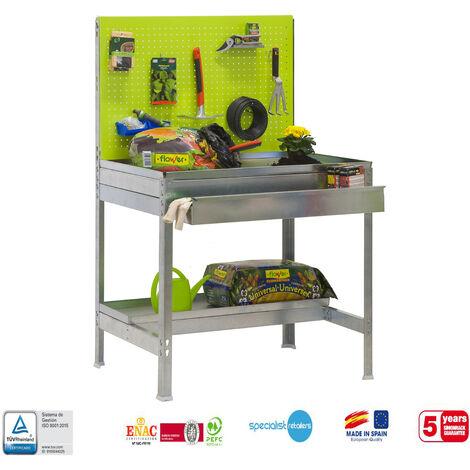 Simonrack - Kit simongarden BT2 box verde - galvanizado