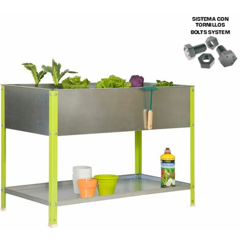 Simonrack - Kit simongarden urban top verde - galvanizado