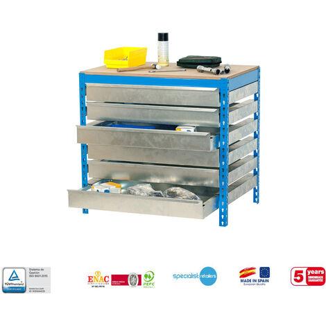 Simonrack - Kit simonwork BT5 box 6 cajones 842 x 1510 x 760 mm