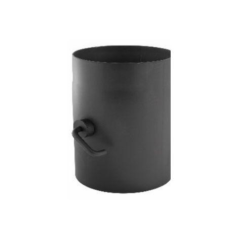 Simple paroi acier 2 mm - Clapet régulateur réglable | 150 mm