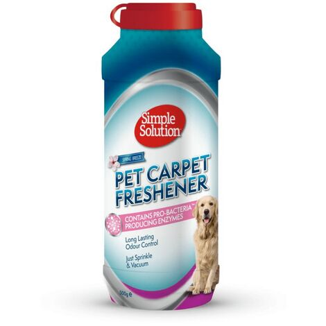 Simple Solution Fresh Scent Carpet Cleaner (500g) (Blue/Red)