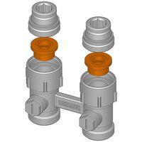 Simplex Flachdichtung Vorlaufeinsatz für Hahnblock