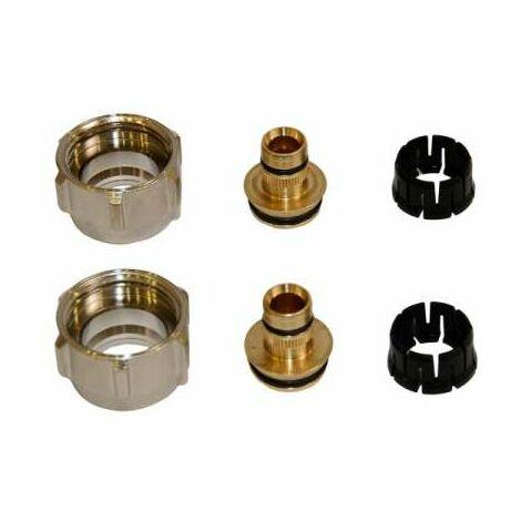 Simplex Klemmverschraubung 1 Paar 3/4''x16/2 für Kst. und Metallverbundrohr F11405