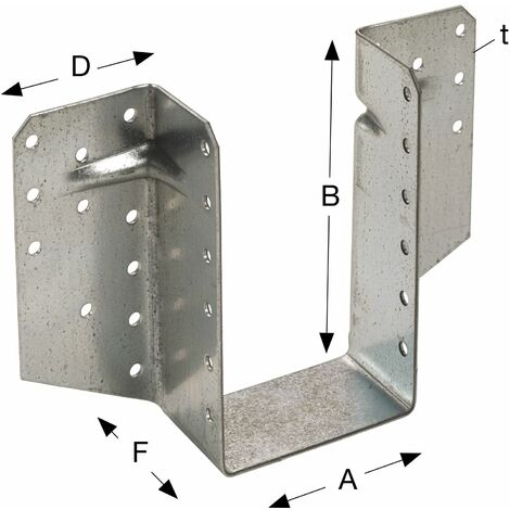 Simpson Balkenschuh außenliegend BSS - Stahl feuerverzinkt