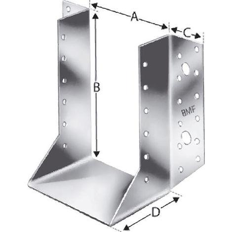 Simpson Strong-Tie Strong Tie SST Balkenschuh aussen BSNN80/150 (Inh. 40 Stück)