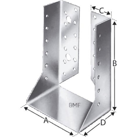 Simpson Strong-Tie Strong Tie SST Balkenschuh innen BSIN100/170 (Inh. 30 Stück)
