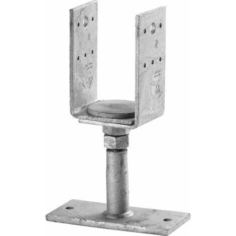 Befestigungssatz für Stützfuß und H-Anker Stahl verzinkt