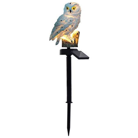 Simulation owl lawn lamp