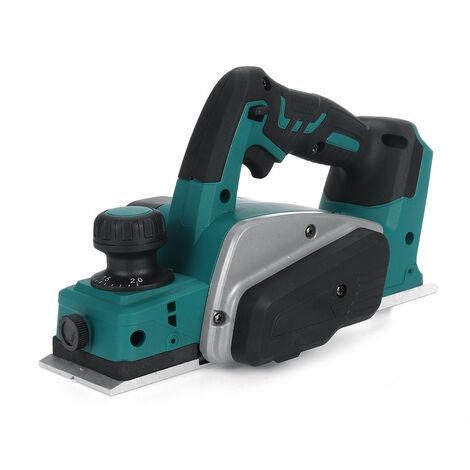 (Sin batería) DANIU 18V 15000RPM Cepilladora eléctrica Placa inferior de aluminio Máquina cortadora de madera con llave