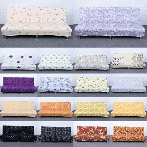 Sin funda para sofa con reposabrazos, funda para sofa cama plegable para el hogar, funda antipolvo