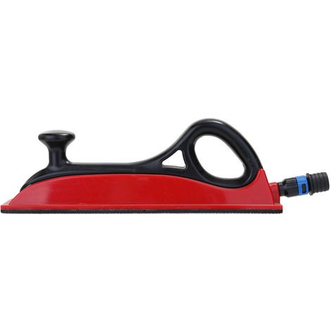Sin polvo seco de molienda aspiradora de mano Empuje la placa del metal de pulverizacion de pintura herramienta de la amoladora Inicio Plasticos viscosidad fuerte Manual