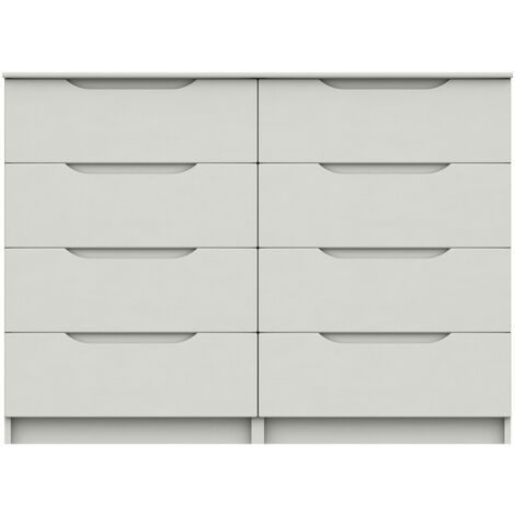 Sinata Gloss 4 Drawer Double Chest
