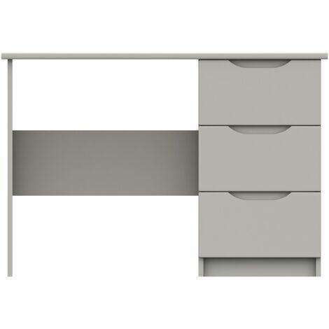"main image of ""Sinata Gloss Three Drawer Dressing Table"""