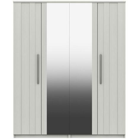 Sinata Two Door Gloss Wardrobe