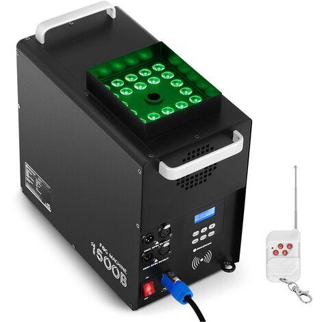 Singercon Máquina de Humo Generador de Niebla LED 24x3W 1.500W Temporizador