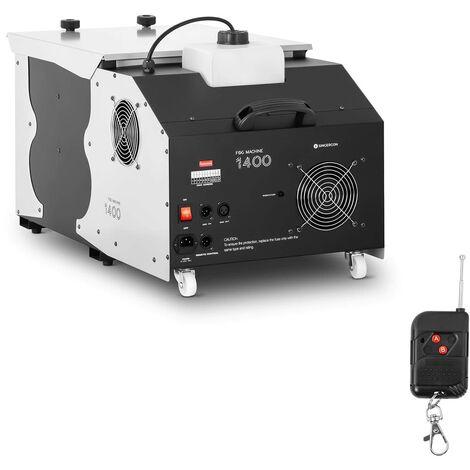 Singercon Máquina de Niebla Baja Generador de Humo 1.400W 566 m3/min