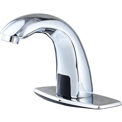 Single cold medical household induction basin faucet