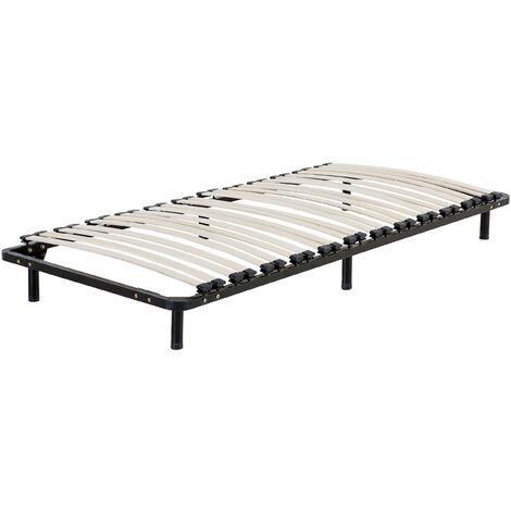 Single Freestanding Slatted Bed Base BASIC