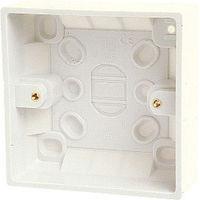 Single Gang Socket Back Box (inside 28mm, outside 32m) Patch Wall Mount