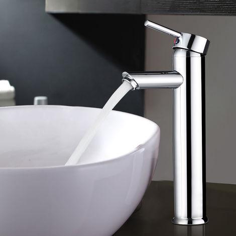 Single Lever Basin Mixer, High Bathroom Faucet, Bathroom Tap Mixer, Basin Mixer Tap, Basin Mixer, Basin, Vanity Single Lever Mixer, Chrome Brass