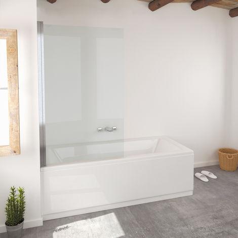 Single Mampara de ducha para bañera 150x85