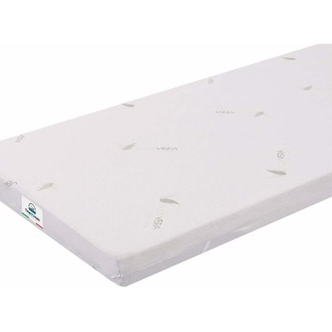 Single Mattress Topper 90x190 in Memory Foam and Aloe VeraTOP8