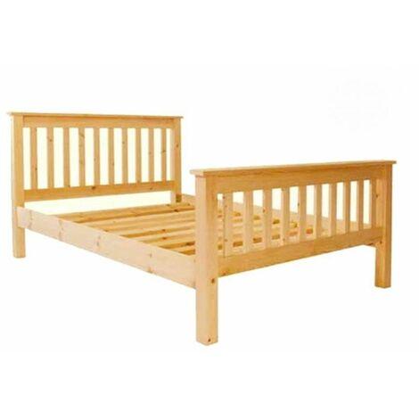 Single Premier Harrogate Slatted Pine High End Bed - 3ft