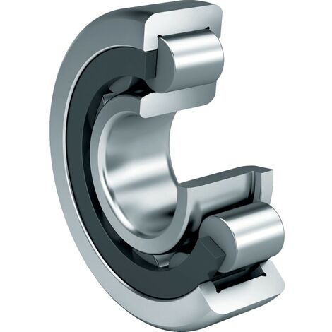 Single Row Cylindrical Roller Bearings - NJ Type
