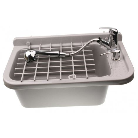 Sink complete basin utility chamber set
