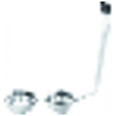 Sink waste plug with 2 tanks basket - NICOLL : 0204168