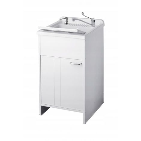 Sink with cupboard, medical battery, dispenser cha