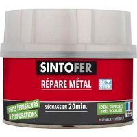 SINTO FER mastic à réparer et renforcer les métaux et dérivés 330 g