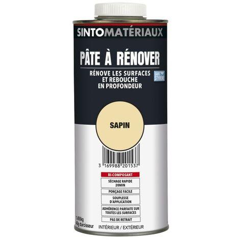SINTO MATÉRIAUX Pâte à Rénover, rebouche et colle tous matériaux 1,5kg