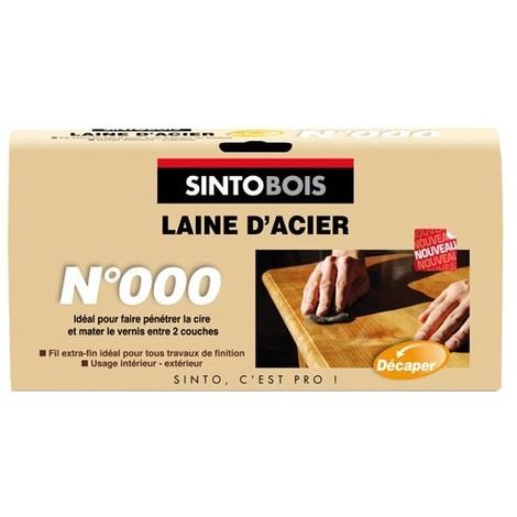 SINTOBOIS LAINE D'ACIER N0 150G (Vendu par 1)