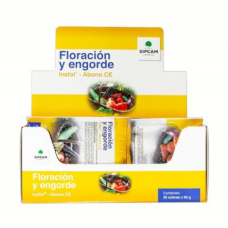 SIPCAM INAFOL FLORACIÓN y ENGORDE. 1 Sobre de 60 gr