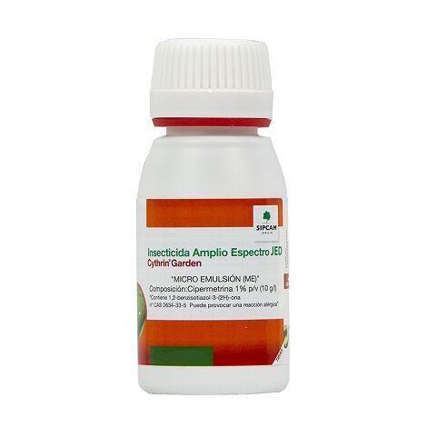 SIPCAM JARDÍN Cythrin Garden Insecticida Amplio Espectro JED, 50 ml
