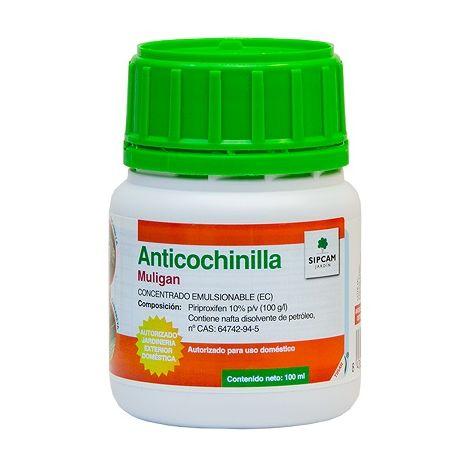 SIPCAM JARDÍN Insecticida Anticochinilla Mulligan 100 ml