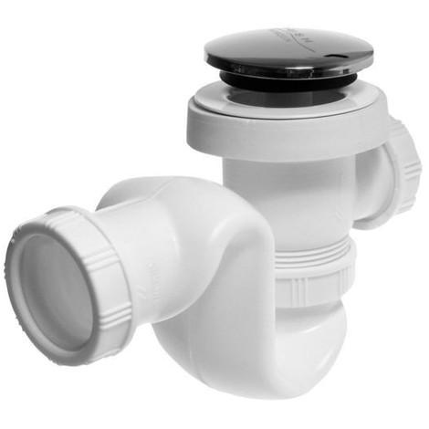 Siphon de douche diamètre 50 mm clic-clac
