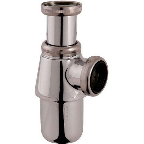 Siphon de lavabo à culot chromé - 1'1/4 - Ø 32 mm
