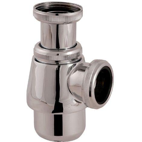 Siphon de lavabo chromé réglable - 1'1/4 - Ø 32 mm - Valentin